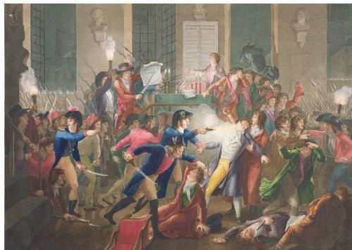 L'arresto di Robespierre