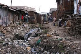 slum di Kibera (Nairobi)