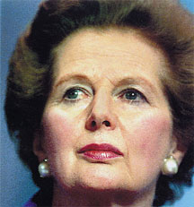 Margaret Thatcher (1925 - 2013)