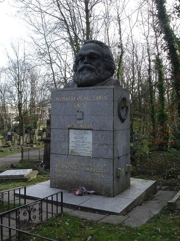 Cimitero di Highate, Tomba di Marx