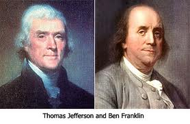 Thomas Jefferson and Benjamin Franklin