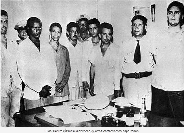 Fidel catturato dopo assalto Moncada