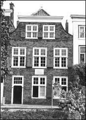 La casa in cui Spinoza si spense il 21 febbraio 1677