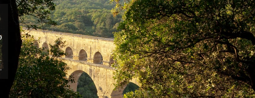 Il Pont du Gard sul Gardon