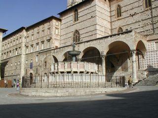 Perugia, La curia in P.za IV Novembre