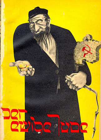 Propaganda nazista, Ebreo usuraio