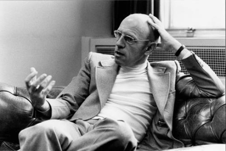 Michel Foucault (im Pariser SPIEGEL-Büro am 09.12.1977)  SPIEGEL Bild-Archiv