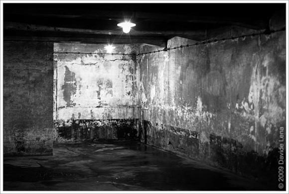 camera a gas del Krematorium I