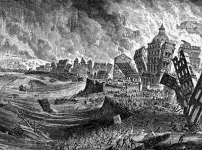 Il terremoto di Lisbona (1755) che sconvolse Voltaire e i suoi contemporanei