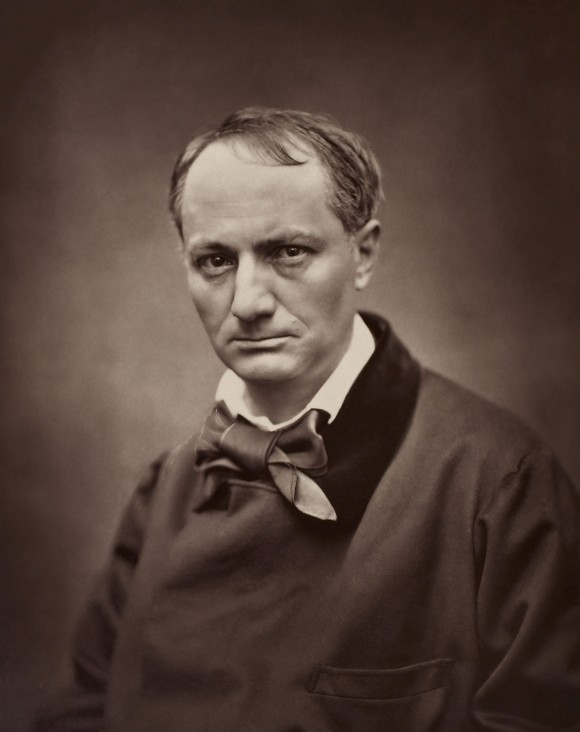 Chales Baudelaire nel 1862 ca
