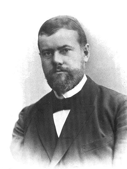 Max Weber nel 1894