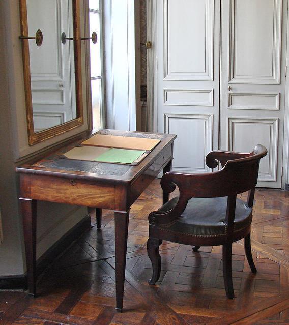 Lo studio della casa parigina di Comte
