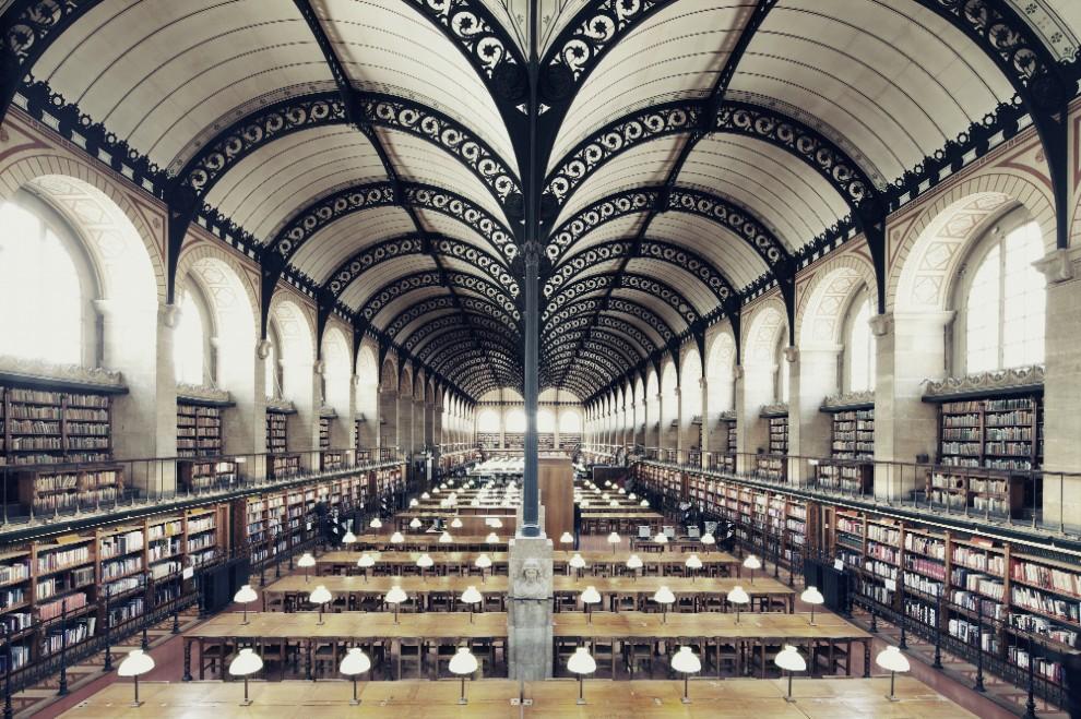 Bibliothèque Sainte Genéviève - Paris