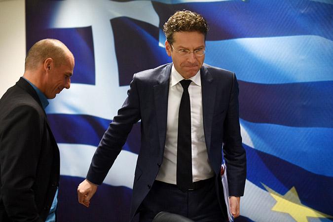 Varoufakis e Dijsselbloem 2