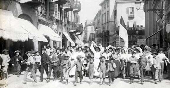 primo maggio 1906 Vercelli