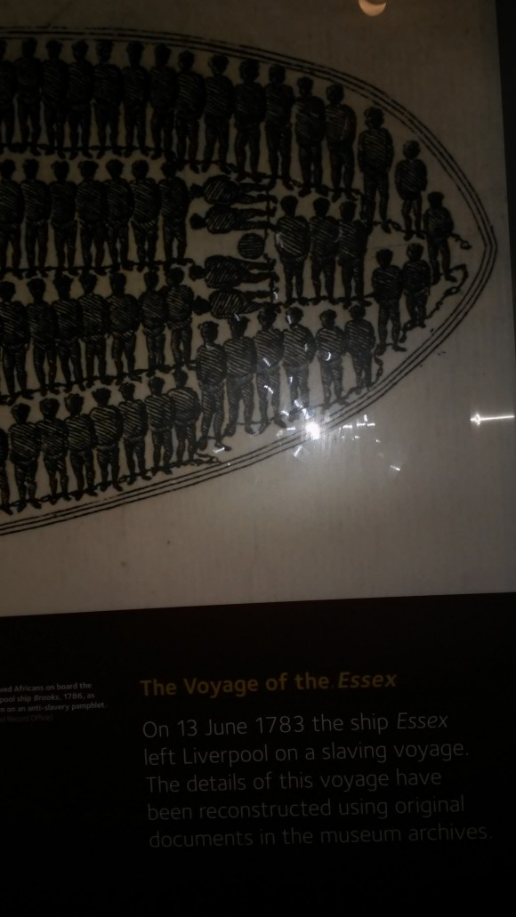 On 13 June 1783, the ship Essex left Liverpool on a slaving voyage