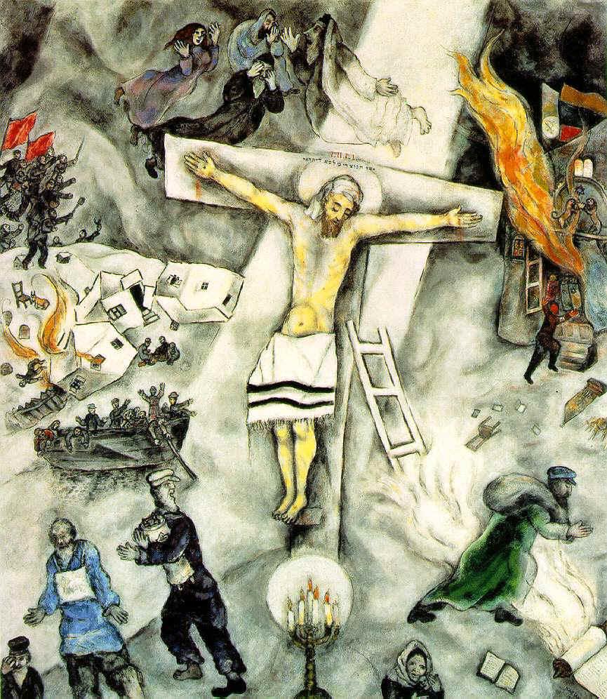 Marc Chagall, La crucifixion blanche, 1938