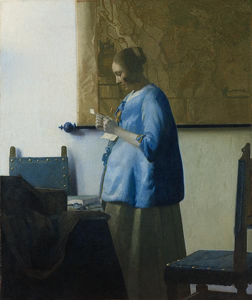 Vermeer, Donna con lettera