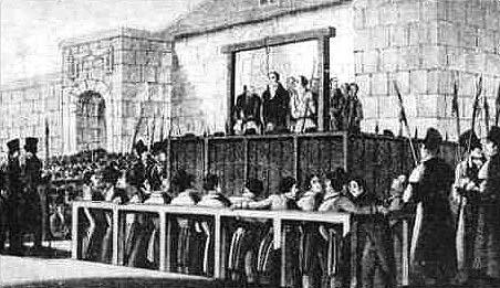 luddisti impiccagioni
