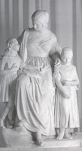Paolo Emilio Demi, La madre educatrice, 1836 - Livorno Biblioteca Guerrazzi