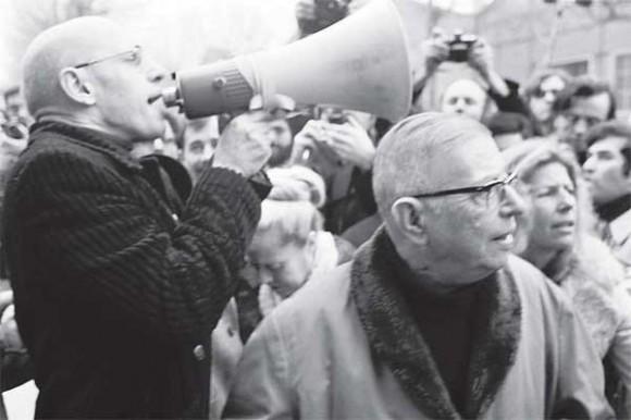 Il sostegno di Foucault e Sartre agli studenti durante il maggio 68