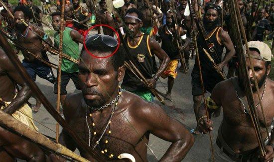 Guerra tribale in Nuova Guinea