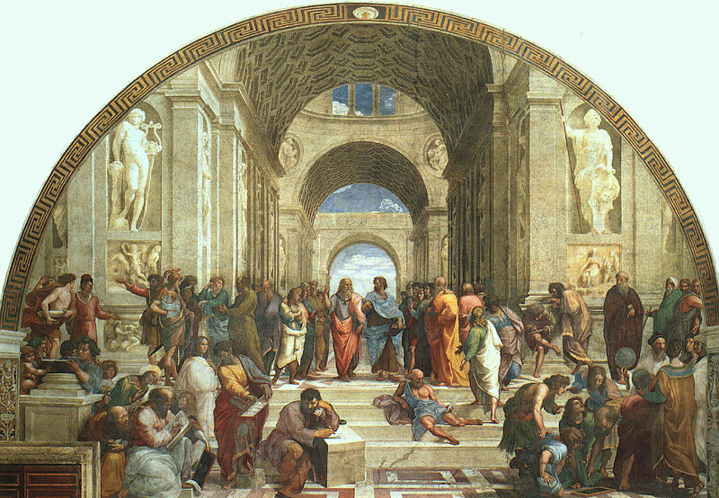 Raffaello, La scuola di Atene
