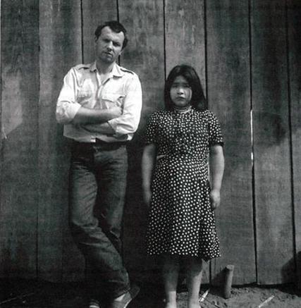 Pierre Clastres e la giovane Guayaki Raipurangi