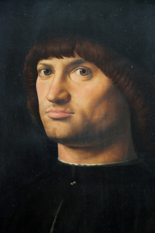 Antonello da Messina - Condottiero (Louvre)