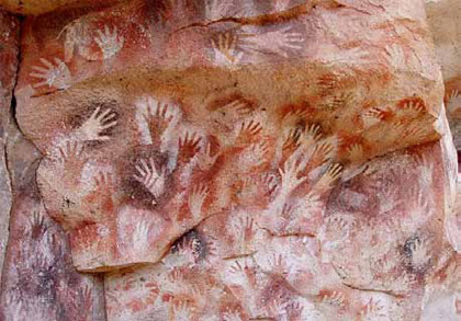 Lascaux, Mani ritratte dall'artista rupestre 17.000 anni fa