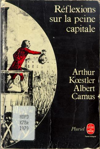Camus, guillotine