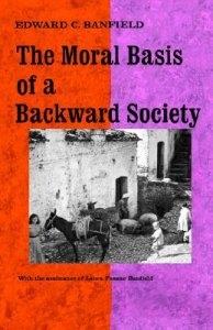 Moral Basis Backward Society