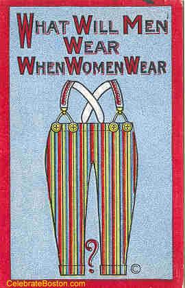 Quando le donne porteranno i pantaloni - New York 1915