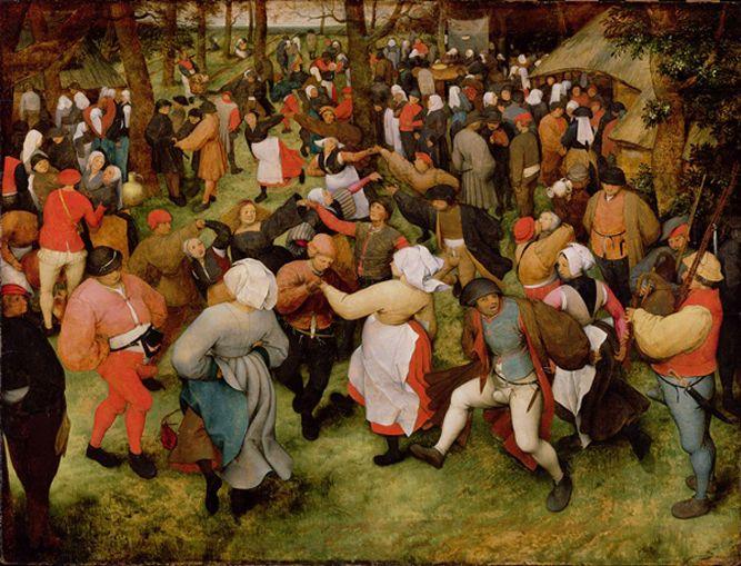 Pieter Bruegel il vecchio, La danza (1568)