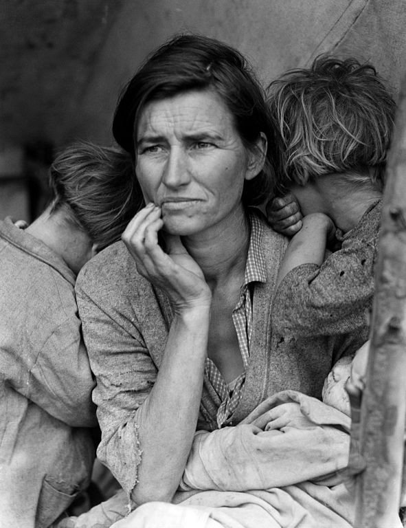 Dorotea Lange, Migrant Mother