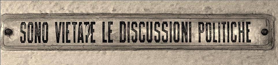 discussioni politiche